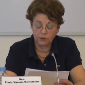 BALLESTRERO, Maria Vittoria.