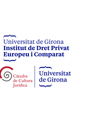 Closing cerimony of the period in Girona of  the Master's degree in Tort Law