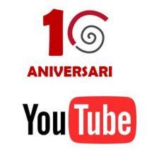 Arribem al nostre 10è aniversari amb 500 mil visualitzacions al nostre canal Youtube