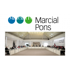 Marcial Pons Publisher guarded with the Gold Medal of Merit in Fine Arts of the Spanish Government